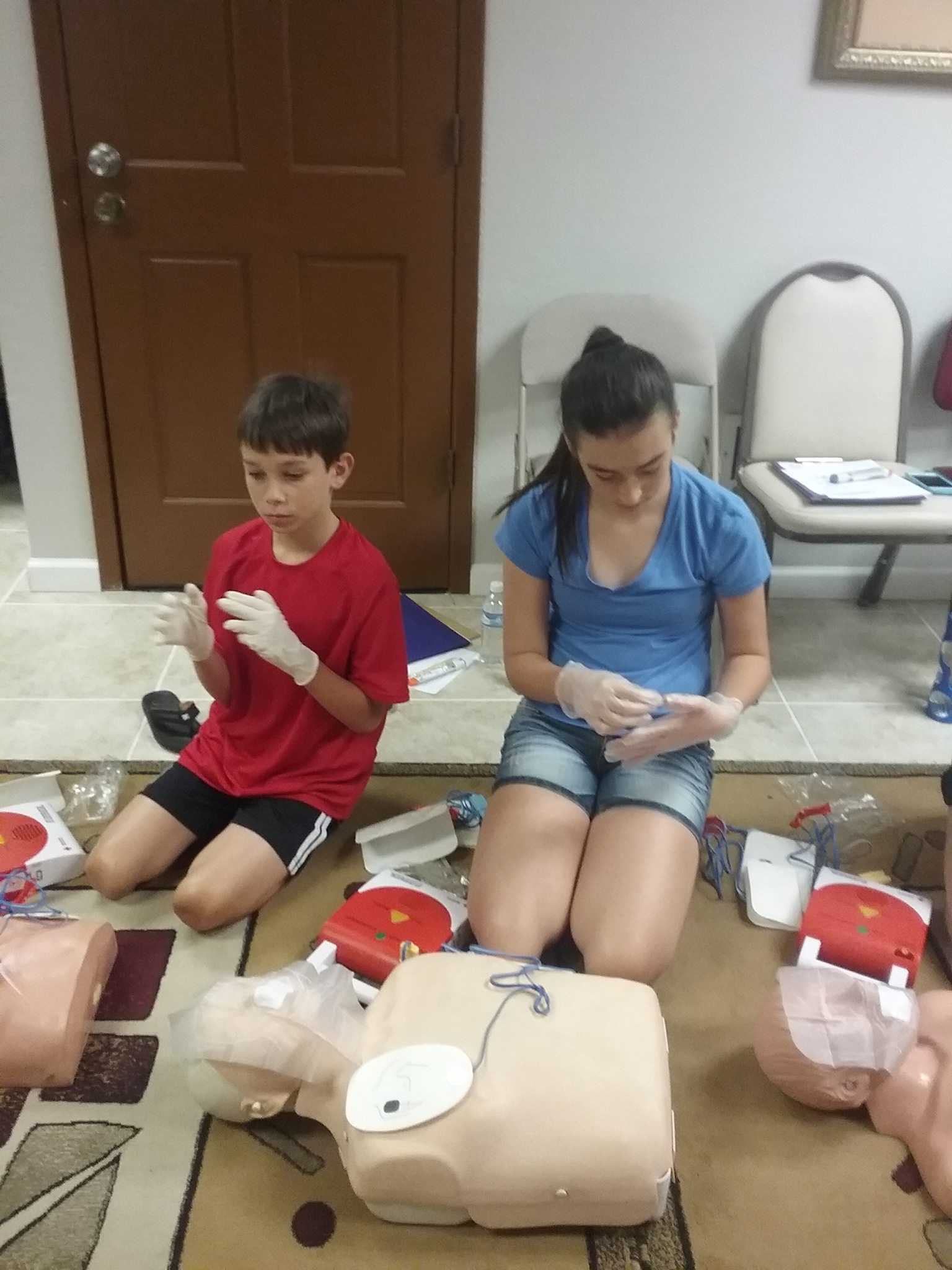 July 14 CPR Class pic2