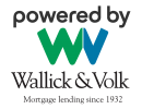 Wallick and Volk logo the oldest mortgagelending company in country, associated